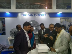 With Karnataka's Textile Minister Shri R Lamani